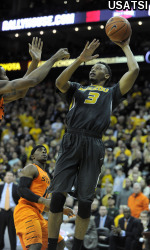 Sophomore Johnathan Williams, III, tallied a career best 22 points to lead the Tigers
