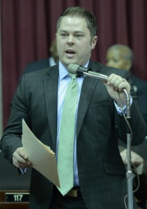 Representative Elijah Haahr (photo courtesy; Tim Bommel, Missouri House Communications)