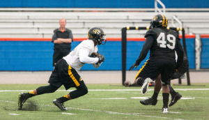 The Missouri Tigers went through drills and drizzle this week in Orlando (photo/Mizzou Athletics)