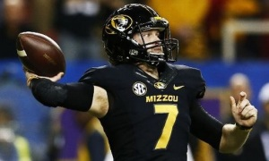 Maty Mauk and the Mizzou offense was held mostly in check in the SEC Championship game (photo/Mizzou Athletics)