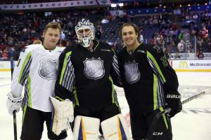 Blues All-Stars--Vladimir Tarasenko, Brian Elliott and Kevin Shattenkirk (photo/Blues.NHL.com)
