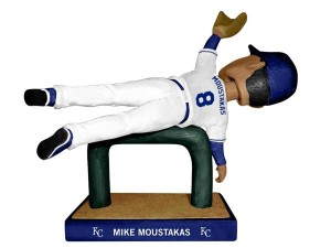 The Royals added a new twist to Bobbleheads that 's sure to leave fans head over heels (photo/KC Royals)
