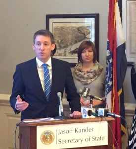 Secretary of State Jason Kander