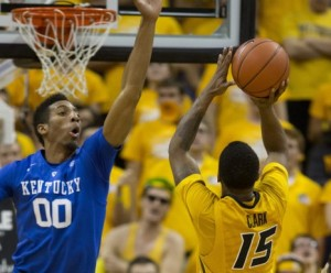 Wes Clark scored 19 points for the Tigers (photo/Mizzou Athletics)
