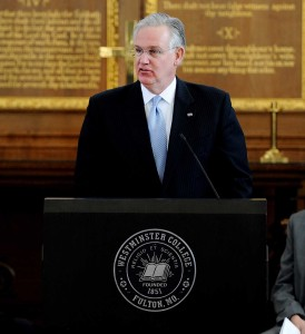 Governor Jay Nixon (Photo Courtesy of Dak Dillon)