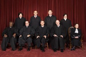 "Analysts disagree on the balance between conservative and liberal ideologies among the Supreme Court Justices.  McCormick offers her assessment, and how it might play into the Court considering same-sex marriage.  (Photo: ""Supreme Court US 2010"" by Steve Petteway, Collection of the Supreme Court of the United States - Roberts Court - The Oyez Project. Licensed under Public Domain via Wikimedia Commons)"