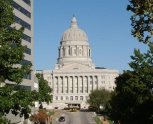 The Senate has approved a list of projects that could be paid for by the $400-million in bonds the legislature authorized last year.  $75-million of that is for the Capitol complex in Jefferson City.  (photo courtesy; Tim Bommel, Missouri House Communications)