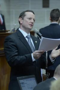 Representative Eric Burlison (photo courtesy; Tim Bommel, Missouri House Communications)