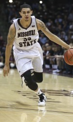 Missouri State's Kyle Hendrix scored 20 and 8 to lead MSU (photo/MissouriStateBears.com)