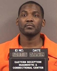 Santonio McCoy is currently serving 7 years in state prison for being a felon in possession of a firearm -- a sentence he is appealing to the state Supreme Court.  (courtesy; Missouri Department of Corrections)