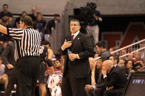 Frank Martin of USC is hoping not to get tripped up by the Tigers (photo/Sportstalksc.com)
