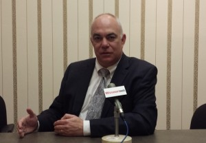 Missouri GOP Chairman John Hancock spoke with Missourinet and affiliate KWIX at KWIX's studios in Moberly.