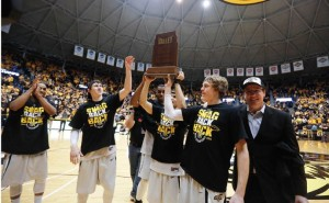 Missouri Valley Conference Tournament in St. Louis (photo/Bill Greenblatt, UPI)