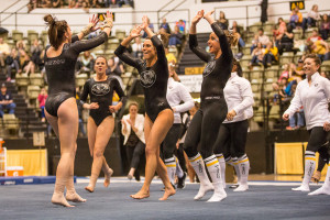 Mizzou gymnastics back at NCAA regionals (photo/Mizzou Athletics)