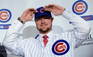Jon Lester will face the Cardinals in his first start with the Cubs (photo/Cubs.com)