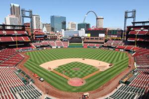 Busch Stadium?  Best place to watch baseball?  You betcha. Photo by Bill Greenblatt/UPI