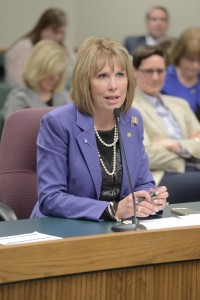 Representative Diane Franklin (photo courtesy; Tim Bommel, Missouri House Communications)