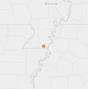 The United States Geologic Survey says the magnitude 4.0 earthquake happened at 10:51 p.m. Wednesday night in Missouri's Bootheel.