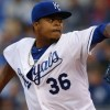 Volquez struggles as Royals fall to Texas