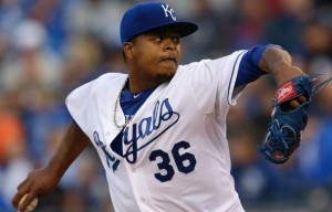 Edinson Volquez (photo/Royals)