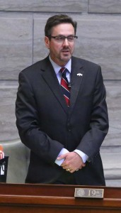 Senator Budget Committee Chairman Kurt Schaefer (photo courtesy; Missouri Senate Communications)