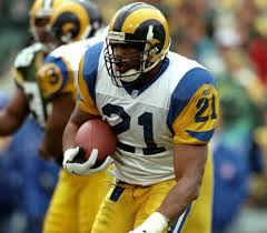 Lawrence Phillips with the  St. Louis Rams