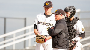 Missouri Baseball vs. UA Little Rock - April 14, 2015 Photo by: Clayton Hotze