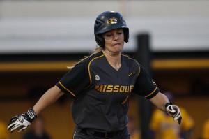 Mizzou softball takes two of three from LSU (Photo/Mizzou Athletics)