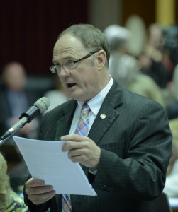 Representative Paul Fitzwater (photo courtesy; Tim Bommel, Missouri House Communications)