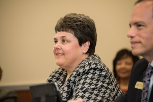 Department of Transportation CFO Roberta Broeker (courtesy, MODOT's Flickr page)