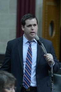 Representative Scott Fitzpatrick (photo courtesy; Tim Bommel, Missouri House Communications)