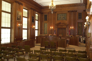 The Senate Lounge; one of the places the Missouri Senate holds public hearings.  (photo courtesy; Missouri Senate Communications)