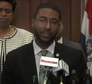 Representative Brandon Ellington (courtesy; Jon Lorenz, Missouri House Communications)