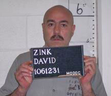 David Zink (photo courtesy; Missouri Department of Corrections)