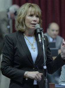 Representative Diane Franklin carried the bill that changed the TANF program in the state House.  (photo courtesy; Tim Bommel, Missouri House Communications)