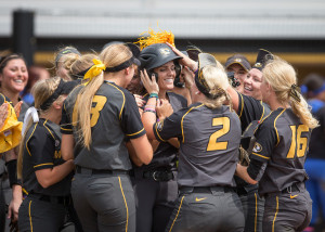 Mizzou softball will host Kansas, Louisville and Indiana State in this weekend's NCAA regional (photo/Mizzou Athletics)
