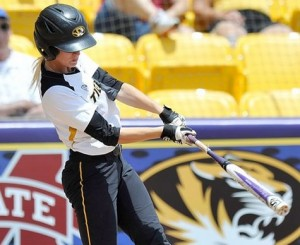 Mizzou softball opens the SEC tournament with a win. (photo/LSU Athletics)