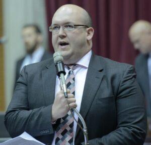 Representative Robert Cornejo (Photo courtesy; Tim Bommel, Missouri House Communications)