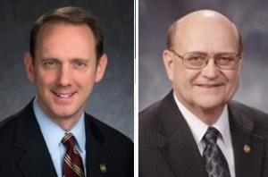 Senators Scott Sifton and Dan Brown