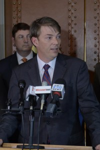 The Missouri House Republican Caucus has chosen Todd Richardson (R-Poplar Bluff) to be the next Speaker of the House. He is expected to be voted into that position Friday morning. (photo courtesy; Tim Bommel, Missouri House Communications)