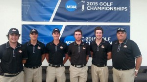 The Missouri-St. Louis golf team (photo/UMSL Athletics)