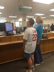 Same-sex couples have started receiving marriage licenses in Boone County.  (photo courtesy; ABC 17)