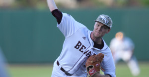 John Harris is the fifth Bears players selected in the first round of the MLB Draft.