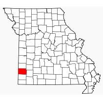 Jasper County in southwest Missouri.