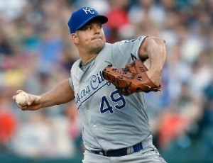 Joe Blanton is now 2-0 in two starts with the Royals (photo/MLB)