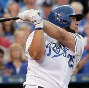 Kendrys Morales (photo/KC Royals)