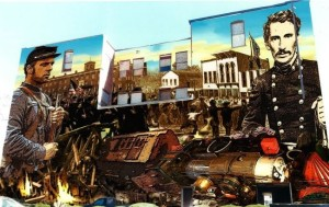 Artist Sam Welty's proposed mural that was to have been painted in downtown St. Joseph.