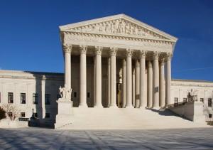 U.S. Supreme Court (courtesy; Wikimedia commons)