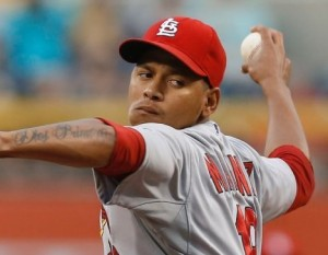 Carlos Martinez could be the final NL player added to the All Star roster (photo/MLB)