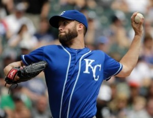 Danny Duffy saved the bullpen on Sunday. (photo/MLB)